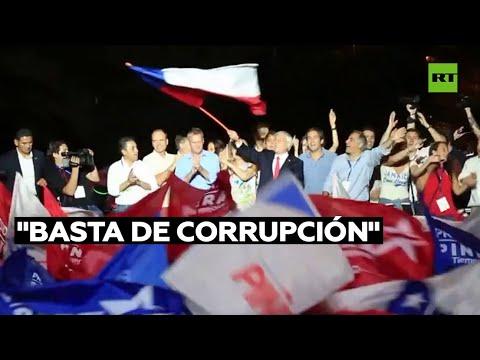 Chilenos protestan en las calles tras apertura de investigación a Piñera