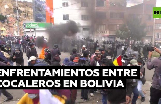 Más de 60 heridos en las protestas de los cocaleros en Bolivia