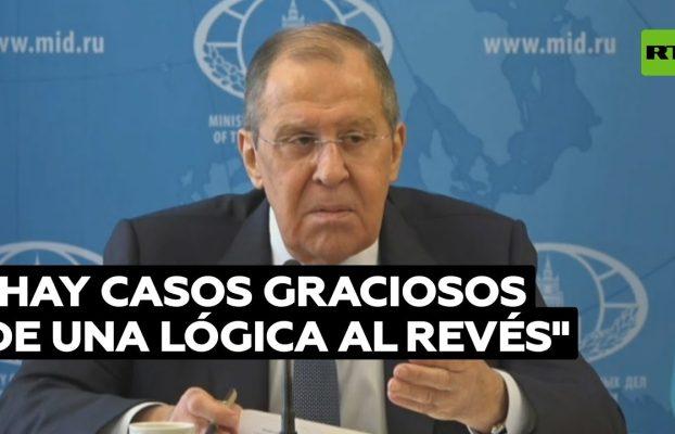 Lavrov ridiculiza actitudes hipócritas respecto a la vacuna rusa Sputnik V en Europa