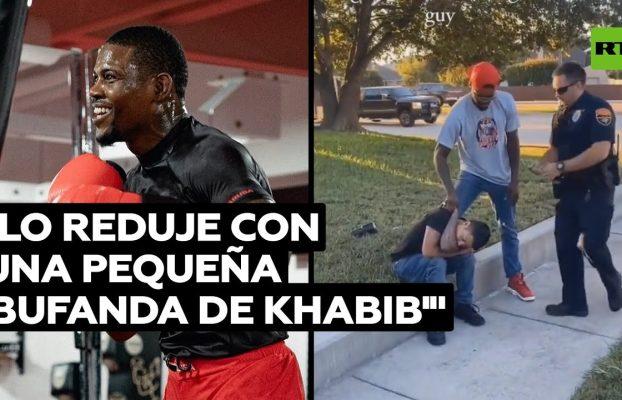 Un luchador de la UFC detiene a un ladrón tras una persecución en EE.UU. @RT Play en Español