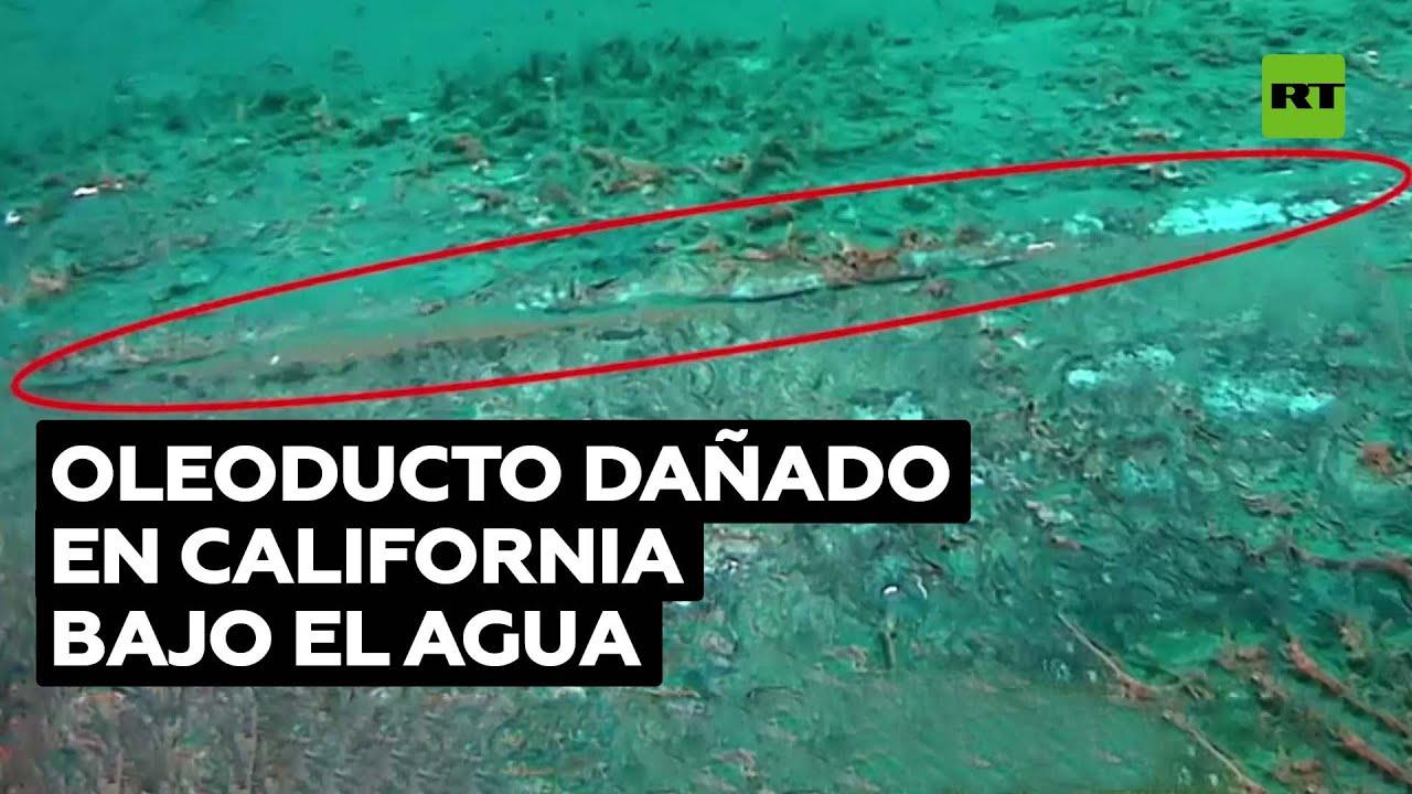 Video de guardacostas estadounidenses muestra el oleoducto dañado en la costa de California