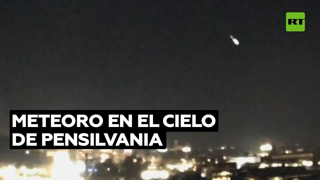 Meteoro es captado por una cámara de vigilancia en EE.UU. @RT Play en Español