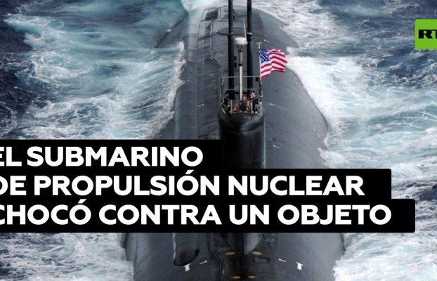 Varios heridos en el impacto de un submarino de EE.UU. contra un objeto en el Indo-Pacífico
