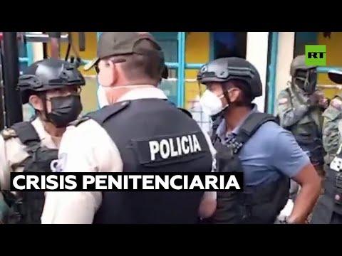 El Parlamento de Ecuador pide a Lasso que atienda la crisis penitenciaria