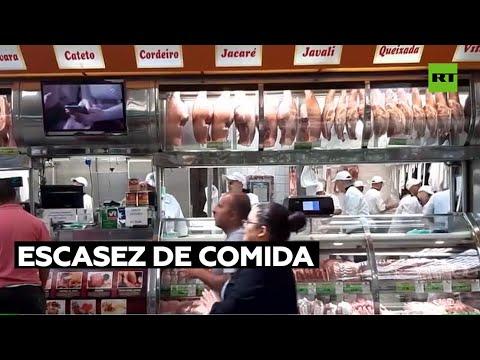 Bolsonaro alerta de escasez de comida por falta de fertilizantes