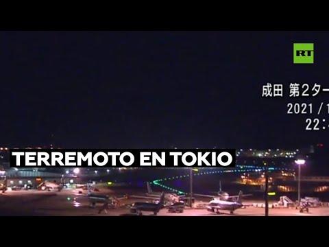 Un terremoto de magnitud 5,9 sacude Tokio y deja varios heridos