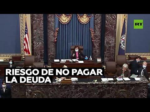 El Senado de EE.UU. aprueba elevar el techo de la deuda pública hasta diciembre