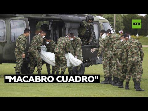 Un senador colombiano denuncia que el Ministerio de Defensa ocultó la muerte de cuatro menores