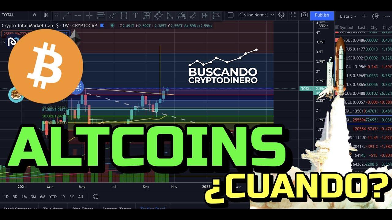 🚀 Bitcoin cerca de Máximos ¿Y las Altcoins CUANDO? + Noticias y Rifa de Litecoin !!