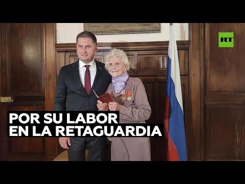 Rusia otorga la ciudadanía a una veterana de la II Guerra Mundial residente en Argentina