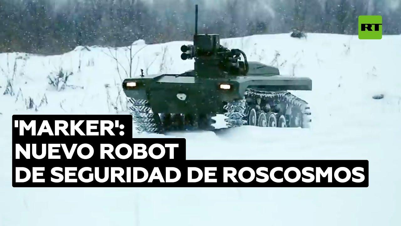Roscosmos comienza a probar un robot de seguridad en el cosmódromo Vostochny