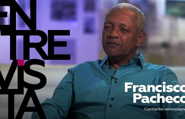 """Cantante venezolano Francisco Pacheco: """"Venezuela no representa un peligro para nadie"""""""