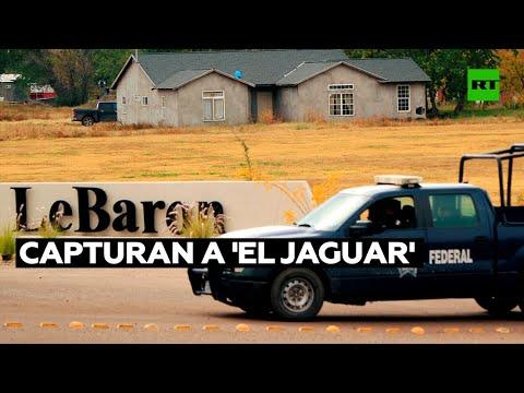 Capturan a 'El Jaguar', otro presunto implicado en el asesinato de la familia LeBarón
