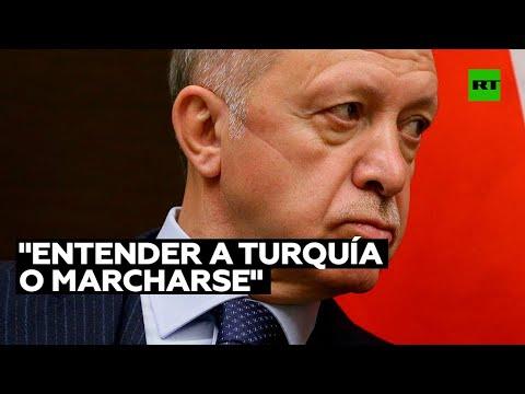 Erdogan ordena declarar 'persona non grata' a embajadores de EE.UU., Alemania y otras ocho naciones