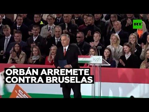 El primer ministro de Hungría acusa a la UE y EE.UU. de interferir en el proceso electoral