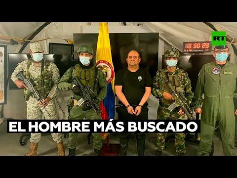 Capturan en Colombia a alias 'Otoniel', líder del Clan del Golfo y el hombre más buscado del país