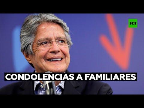 Lasso expresa sus condolencias por la muerte del velocista olímpico ecuatoriano Álex Quiñónez