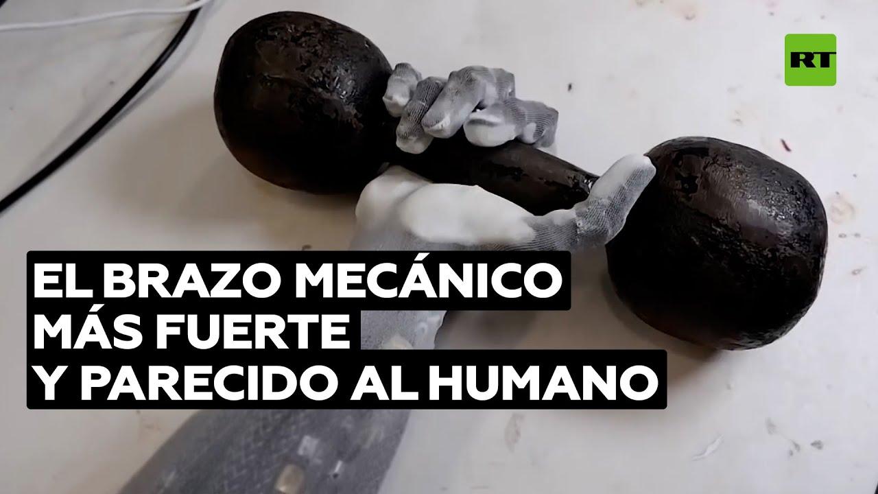 Desarrollan un brazo que imita complejos movimientos y levanta grandes pesos @RT Play en Español