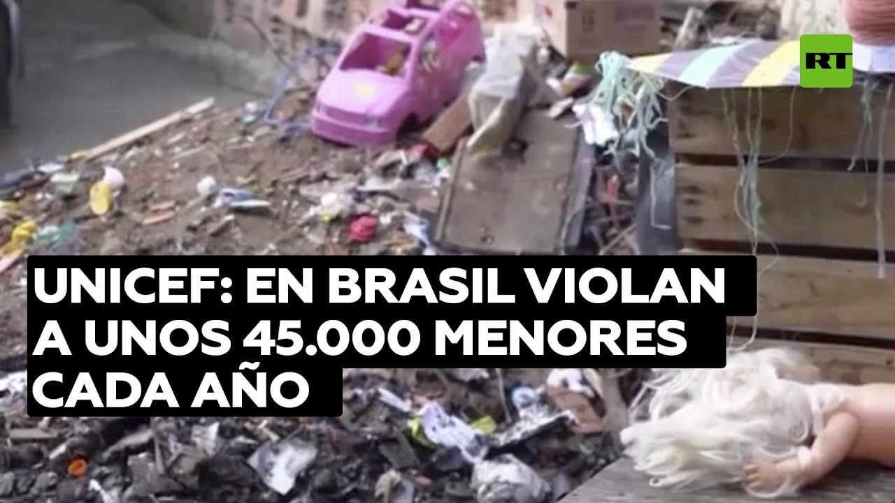Unicef: En Brasil violan a unos 45.000 menores cada año