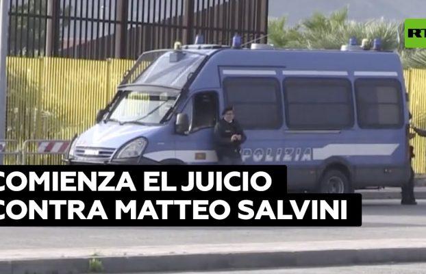 Comienza el juicio contra Matteo Salvini por impedir llegada de migrantes