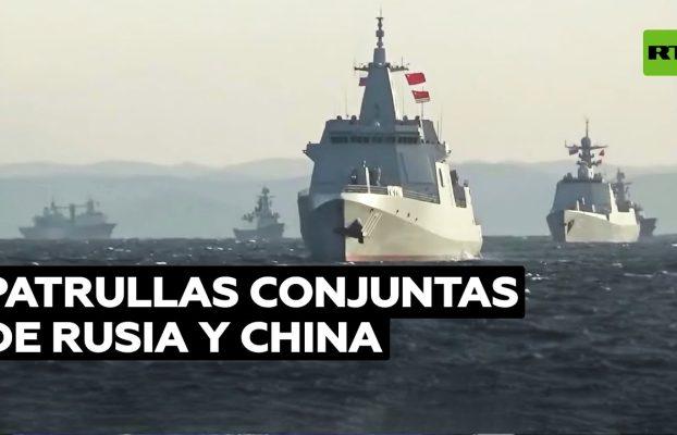 Los buques de guerra de Rusia y China realizan por primera vez patrullas conjuntas