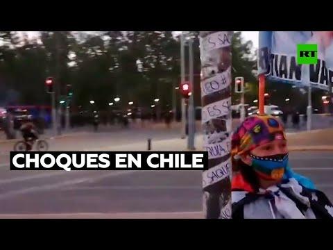 Se reavivan en Chile las protestas durante el segundo aniversario del estallido social