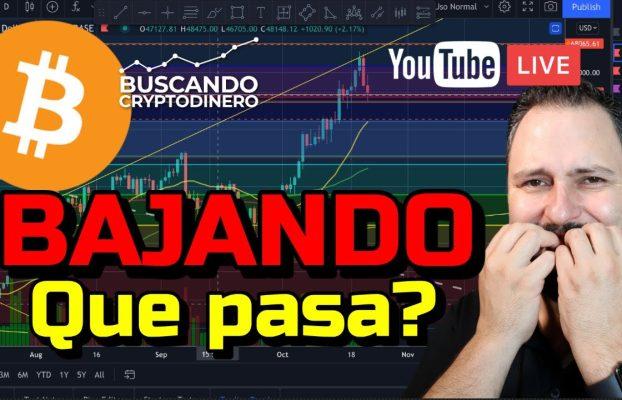 Bitcoin BAJANDO… ¿Que pasa?