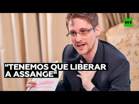 """Snowden ante el Tribunal de Belmarsh: """"Si queremos liberar al mundo, tenemos que liberar a Assange"""""""