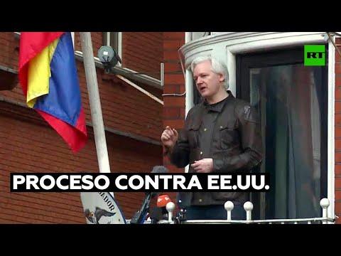 Iniciativa popular busca libertad para Assange y proceso contra EE.UU. por crímenes de guerra