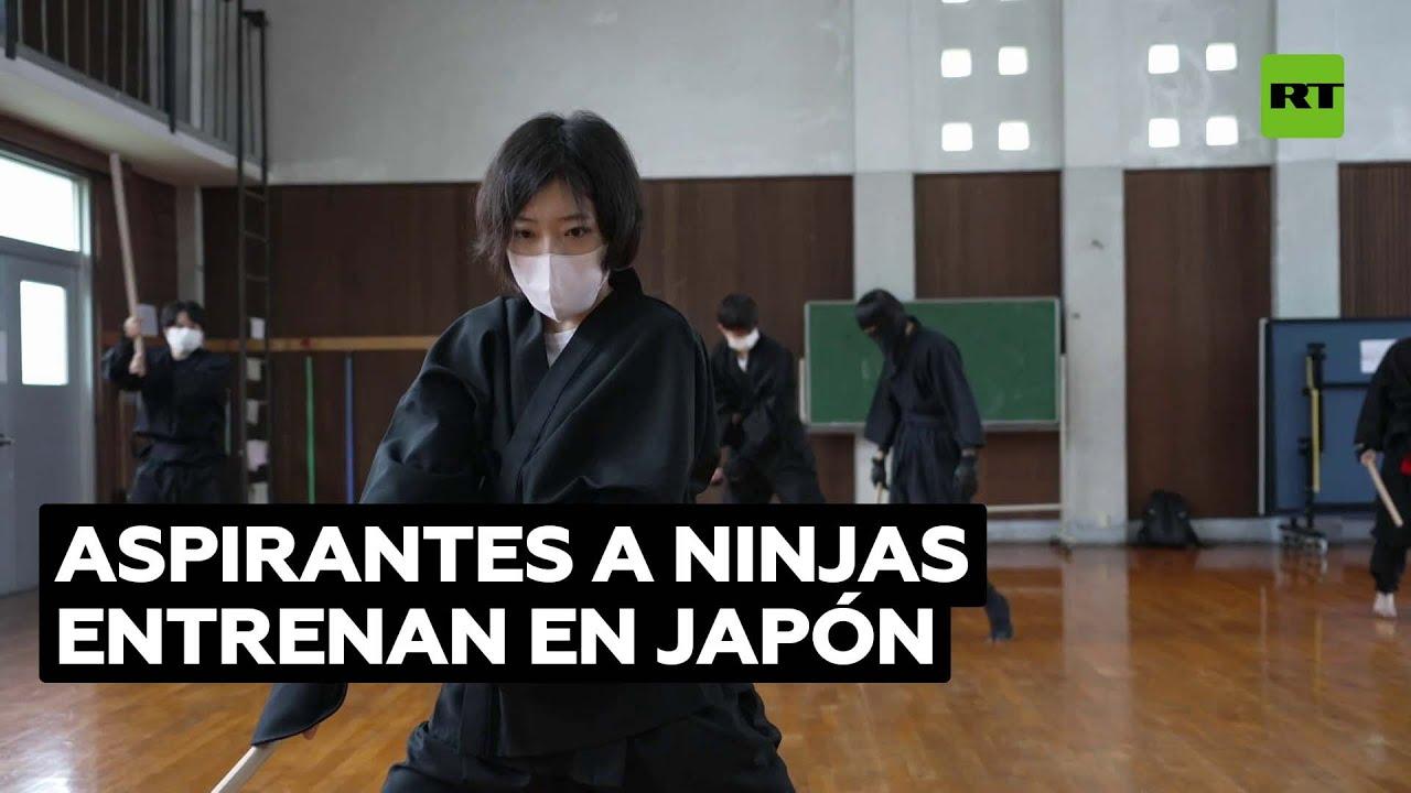"""Entrenan para convertirse en """"ninjas de pleno derecho"""""""