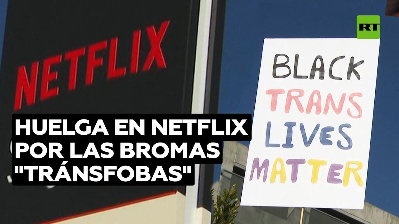 """Huelga en Netflix por los comentarios """"tránsfobos"""" de Dave Chapelle @RT Play en Español"""