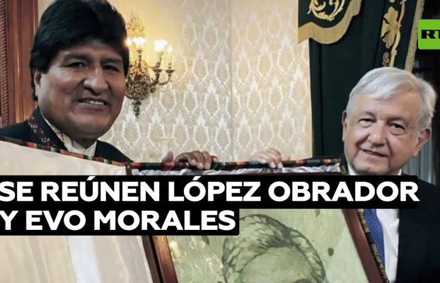 López Obrador y Evo Morales se reúnen entre halagos y reflexiones