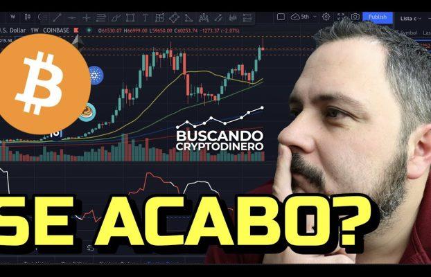 😳 Bitcoin… ¿Se acabo? + Noticias y Rifa de Litecoin !!!