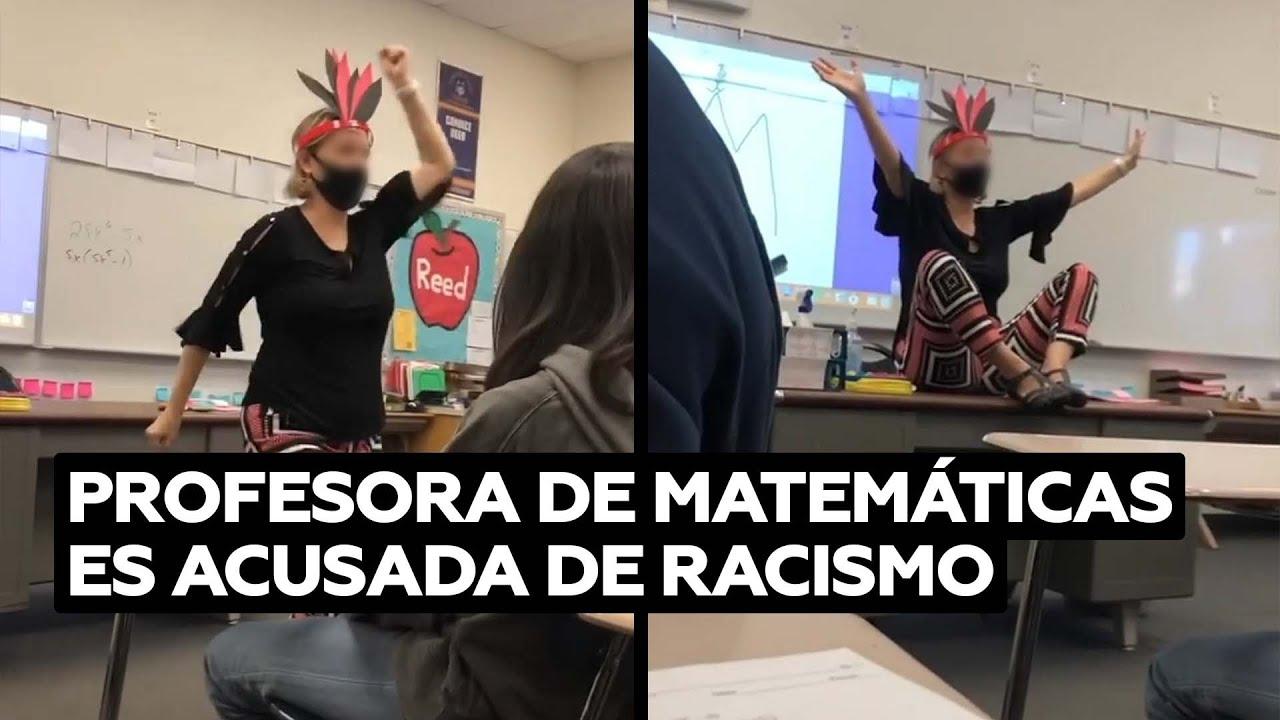 Ponen de baja a una profesora que imitó una danza de los nativos americanos@RT Play en Español