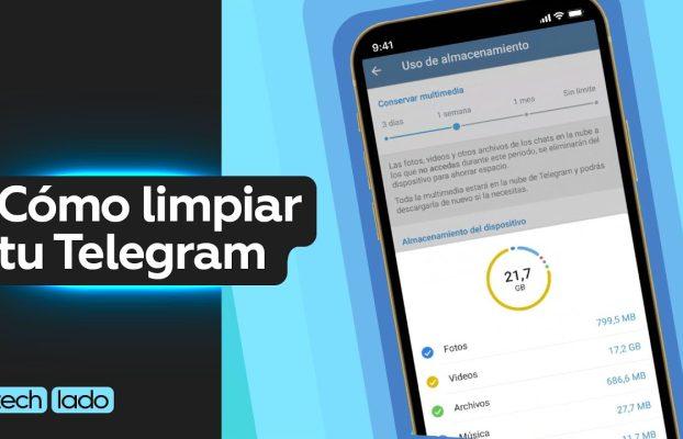¿A ti también te ocupa mucho espacio Telegram? @tech lado