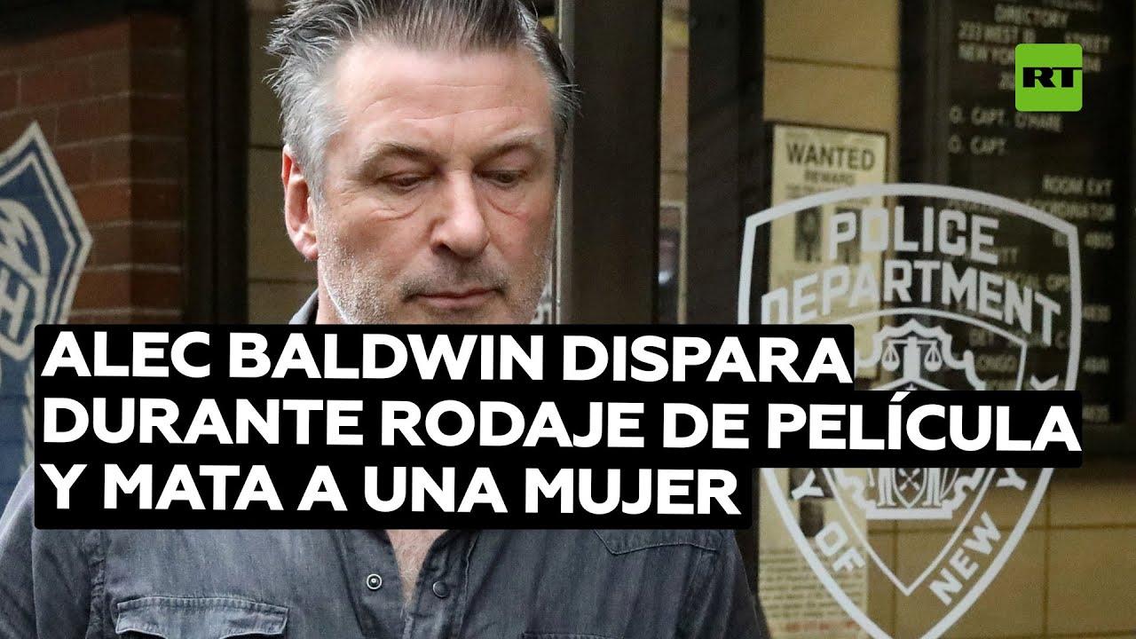 Alec Baldwin disparó arma de utilería que mató a una mujer durante el rodaje de una película