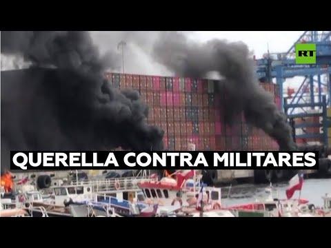Pescadores presentarán una querella contra militares chilenos por reprimir una protesta