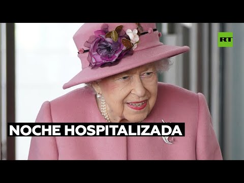 La reina Isabel II pasó una noche hospitalizada tras cancelar su visita a Irlanda del Norte