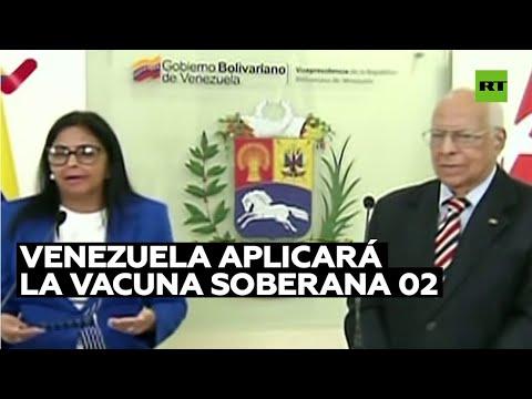 Venezuela aplicará la vacuna Soberana 02 para inmunizar contra el covid-19 a la población infantil