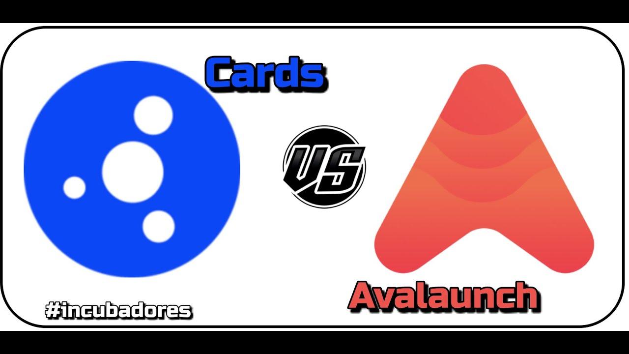 """🥊Cardstarter """"CARDS"""" VS Avalaunch """"XAVA"""": La batalla de proyectos incubadora de Cardano vs Avalanche"""