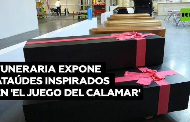 Fabrican ataúdes inspirados en 'El juego del calamar' @RT Play en Español