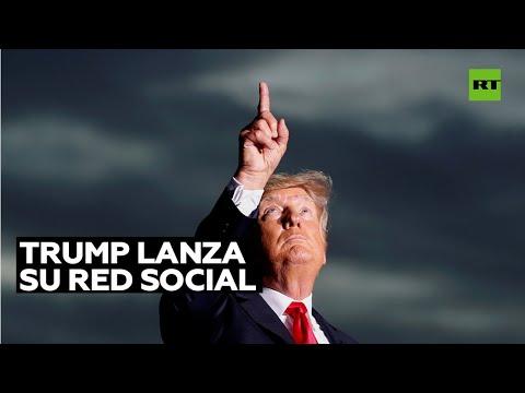 Donald Trump anuncia planes para lanzar una nueva red social 'TRUTH Social'