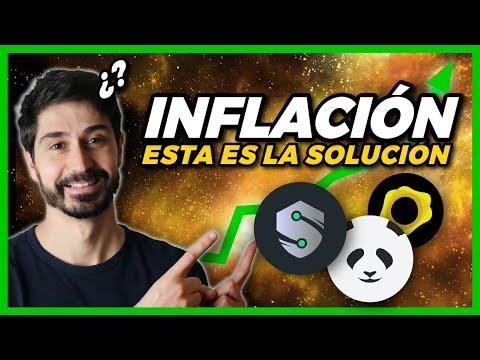 ¡¡PROTEGETE CONTRA LA INFLACIÓN Y CAIDAS EN EL MERCADO!! Inversión en Criptomonedas del Oro & Plata