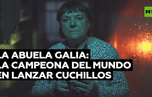 Abuela Galia: la campeona mundial rusa en lanzamiento de cuchillos @RT Play en Español