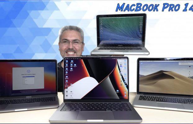 """MacBook Pro 14"""" Unboxing y Primeras Impresiones y versus con Macbook Pro 16"""" 2019 MAS POTENTE"""