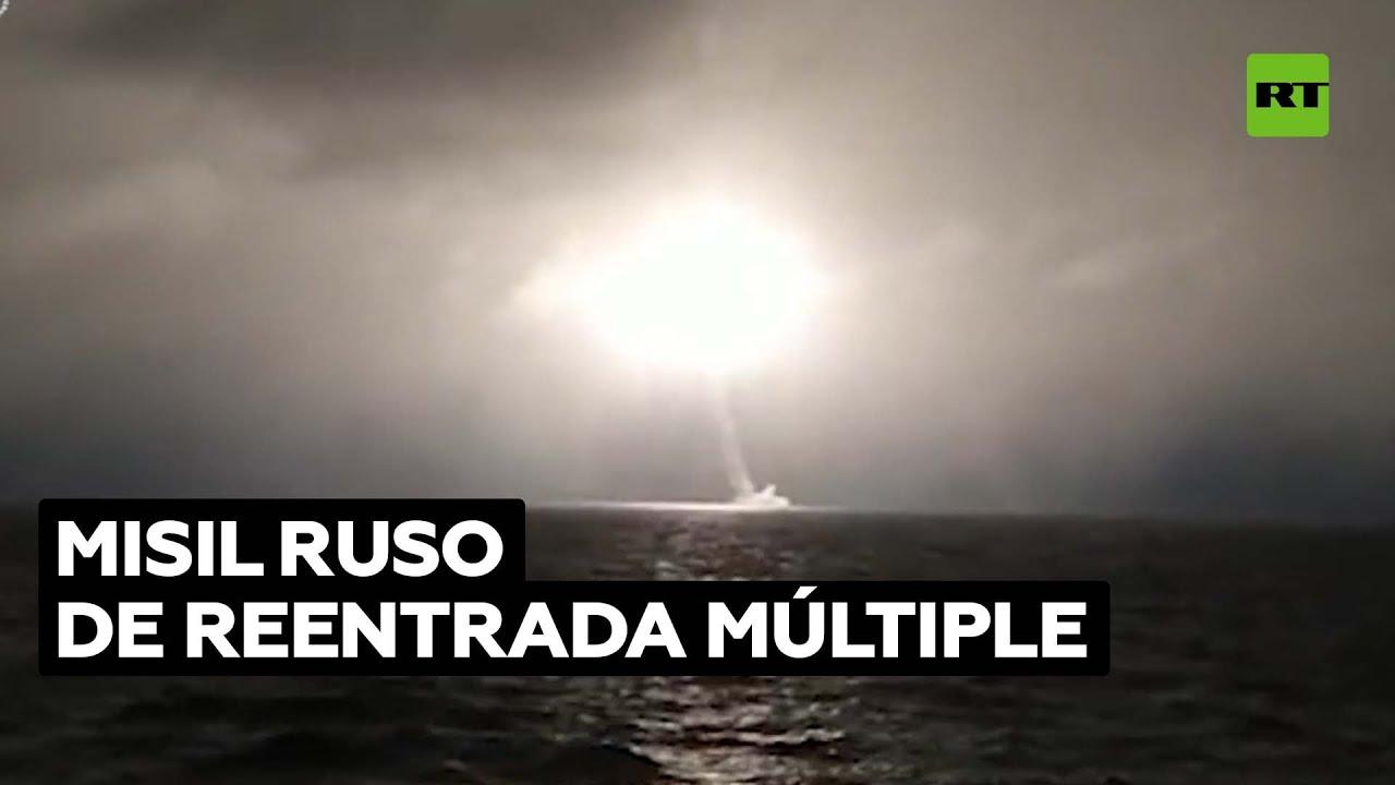 Rusia prueba su nuevo submarino estratégico nuclear lanzando un misil de 8.000 km de alcance