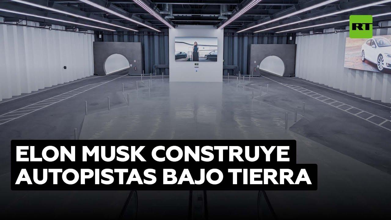 Musk construirá 51 estaciones subterráneas para autos eléctricos en Las Vegas @RT Play en Español
