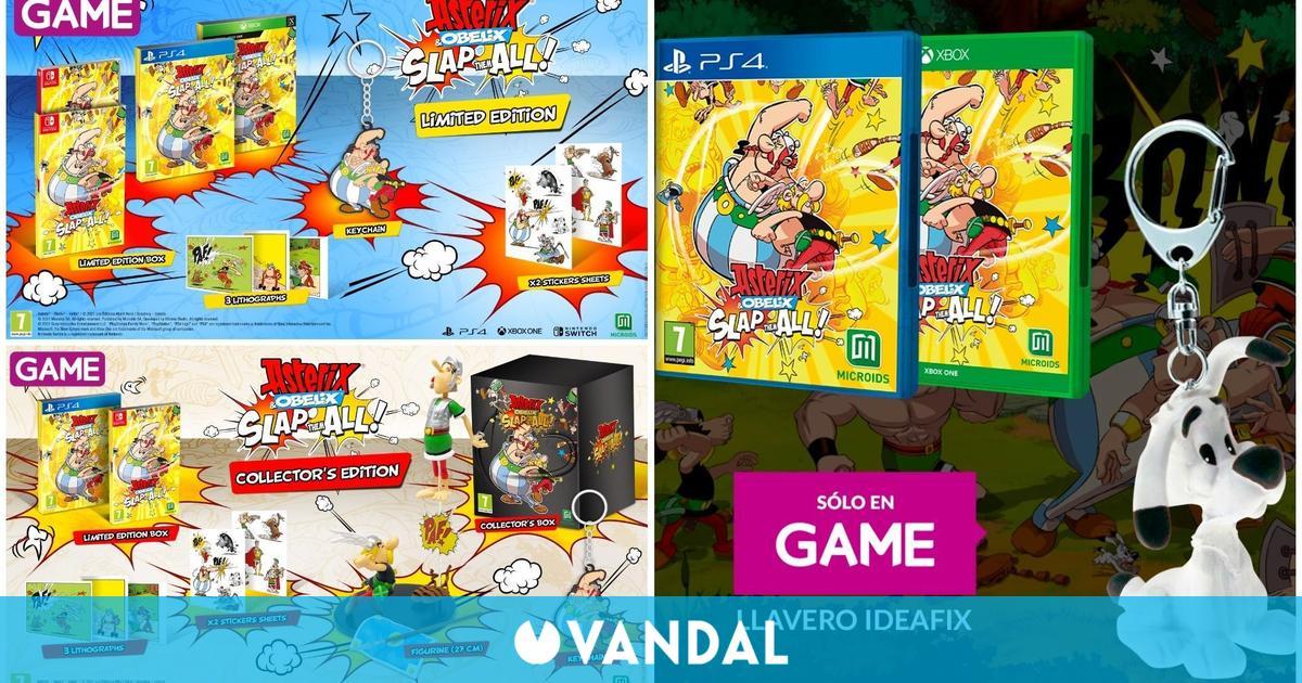 Asterix & Obelix: Slap Them All ya disponible para reservar en GAME con regalo exclusivo
