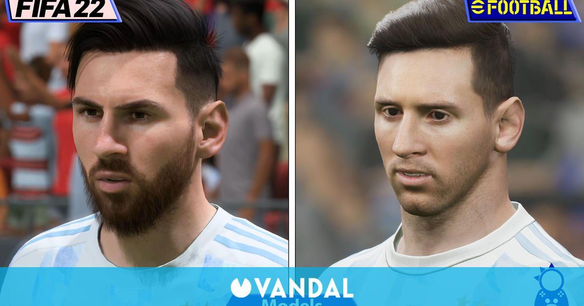 Los gráficos de eFootball 2022 y FIFA 22, frente a frente en esta comparativa