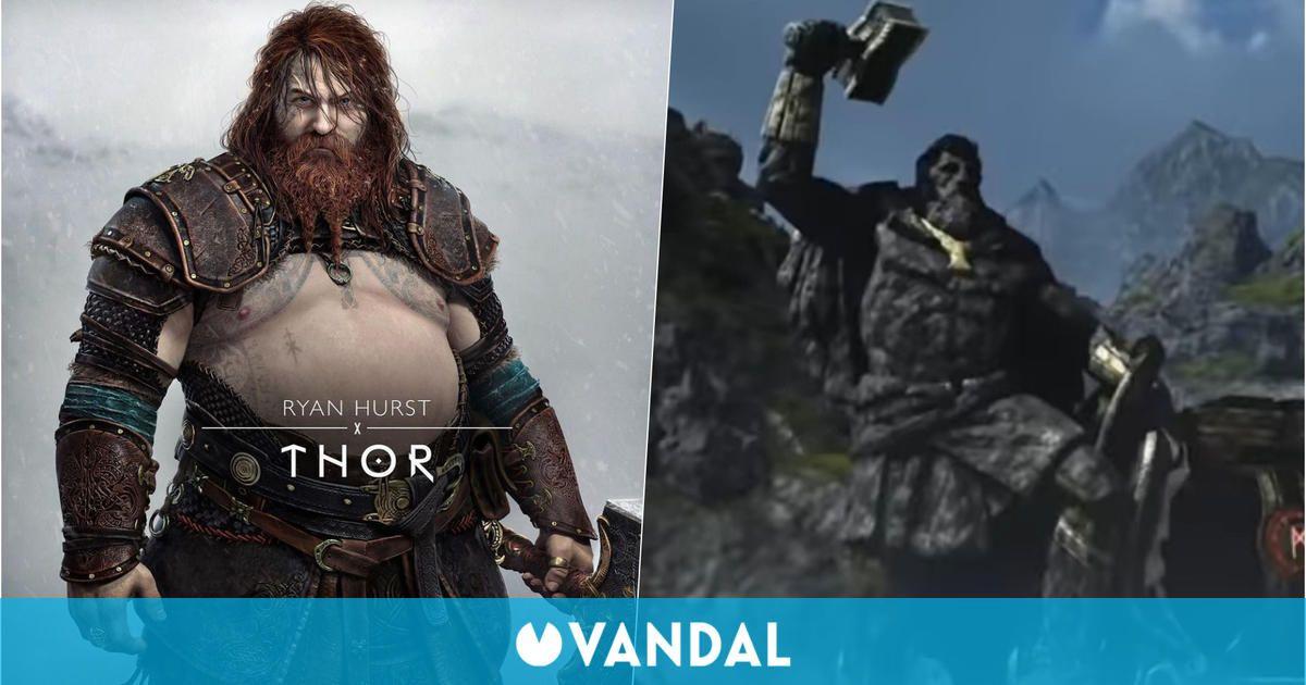 El diseño de Thor ya se anticipaba en God of War pero en España no pudimos darnos cuenta